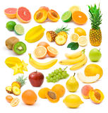 Collection Of Ripe Fruits Images Stock Photography