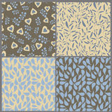 Collection Of Seamless Patterns Royalty Free Stock Photo