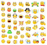 Collection Of Smiles Stock Photography