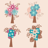 Collection Of Trees Stock Image