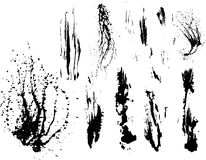 Free Collection Of Vector Paint Splatters Royalty Free Stock Images - 7361389