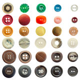 Collection Of Vintage Sewing Buttons Royalty Free Stock Photography