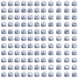 Collection Of Web Buttons Royalty Free Stock Images