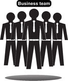 Collection of office workers and business team Stock Image