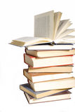 Collection of old books Royalty Free Stock Images
