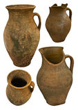 Collection of old earthenware Stock Image