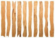 Collection of old pieces of wood Royalty Free Stock Photos