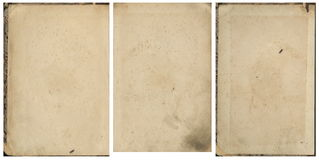 Collection of old vintage book paper Royalty Free Stock Photo