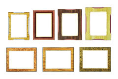 Collection of Old/vintage picture frame Stock Photos