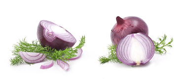 Collection of onions Stock Photo