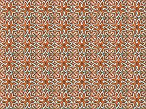 Collection of orange patterns tiles royalty free stock photography