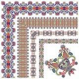 Collection of ornamental floral vintage frame Stock Images