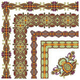 Collection of ornamental floral vintage frame Royalty Free Stock Images