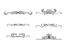 Collection of Ornaments #03 Royalty Free Stock Photos
