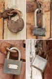 Collection of padlocks 2 Stock Photo