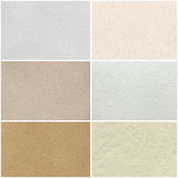 Collection of paper background Stock Photo