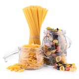 Collection of pasta Stock Photos