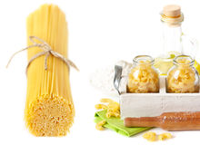 Collection of pasta. Stock Photos