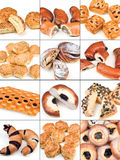 Collection of pastries Stock Photo