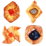 collection of pastry Royalty Free Stock Photo