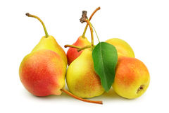 Collection pears Stock Photography