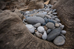Collection of Pebbles Stock Photography