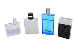 Collection of perfumes Stock Image