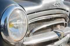 Collection Peugeot 403 pour le salon automobile de vintage Image stock