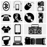 Photo and Media Icons. Stock Images