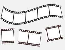 The collection of photographic film Royalty Free Stock Images