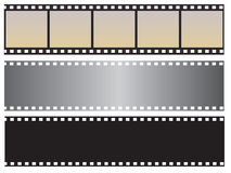 The collection of photographic film Stock Images
