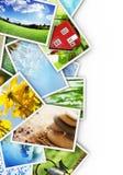 Collection of photos Stock Photos