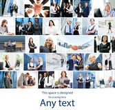 Collection of photos about business Stock Photography