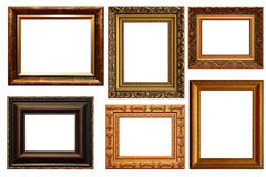 Collection of picture frames Royalty Free Stock Image