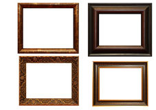 Collection of picture frames Royalty Free Stock Photo