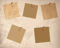 Collection of post its Royalty Free Stock Image