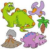 Collection préhistorique illustration stock