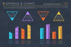 Infographic Elements Vol.1 - Options and Charts vector illustration