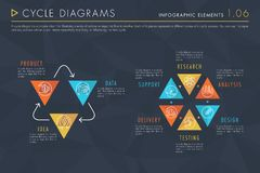 Infographic Elements Vol.1 - Cycle Diagrams vector illustration