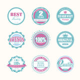 Collection of Premium and High Quality labels Stock Photos