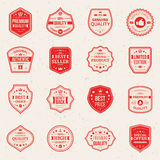 Collection of Premium and High Quality labels Royalty Free Stock Photography