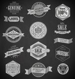 Collection of Premium Quality Labels Stock Photo