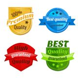 Collection of product offer badges Stock Photos