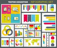 Collection of quality Infographics Design. Royalty Free Stock Photography