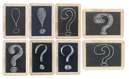 Collection question and exclamation marks Stock Photo