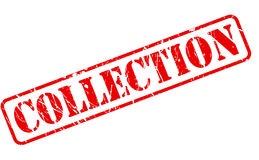 Collection red stamp text Royalty Free Stock Photos