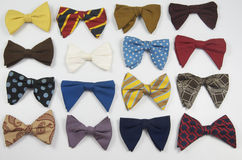 Collection Of Retro Bow Ties Stock Photos