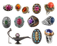 Collection of rings. Stock Photography