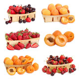Collection of ripe  fruits Royalty Free Stock Photography
