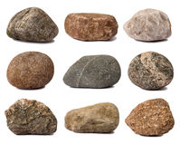 Collection of rocks Stock Images